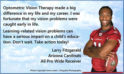 Sports Vision Therapy Canton Ohio Football