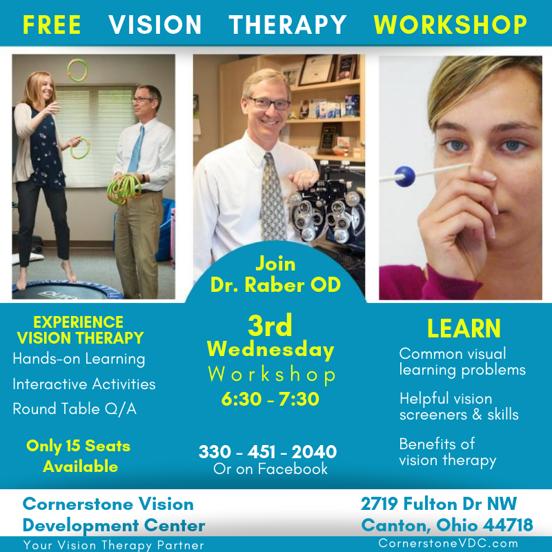 Free Vision Therapy Workshop